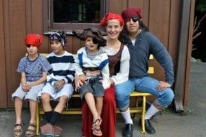 Pirate Theme, SMYMCA Family Camps