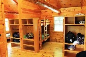 Summer Camp Cabin Interior - South Mountain YMCA
